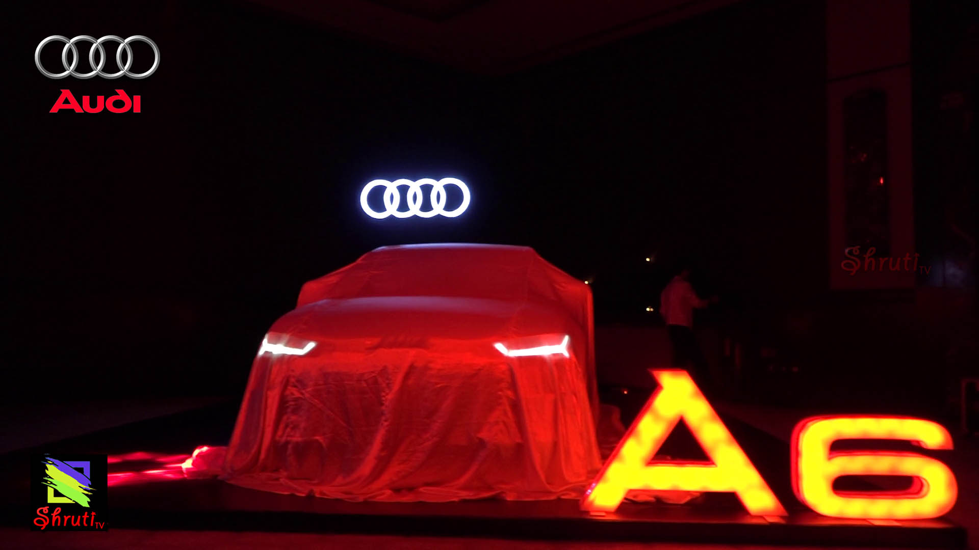Actress Pooja Kumar Launched Audi A6 Matrix In Chennai Shruti Tv