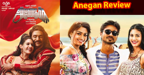 Anegan film Review