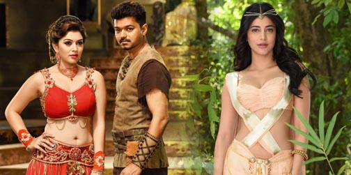 Puli – New Exclusive Photos | Vijay, Shruti Haasan, Hansika, Sri Devi, Sudeep