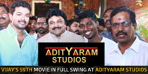 "Atlee Directorial  ""Vijay 59""  huge extravagant set erected at Adityaram Studios"