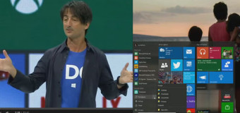 Explore new feature of Windows 10 – Demo by Joe Belfiore