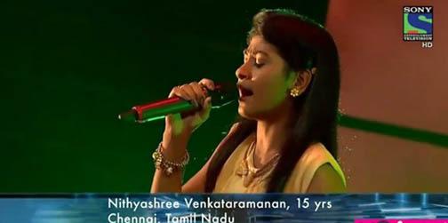 Warm Welcome Sony TV 'Indian Idol Junior-2' Runner-up Tamilnadu Singer Nithyashree