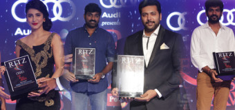 The Audi Ritz Style Awards | Shruti Haasan, Jayam Ravi, Vijay Sethupathi