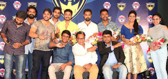 Chennai Rockers Announce their Team Members and Brand Ambassador for Celebrity Badminton League Season I