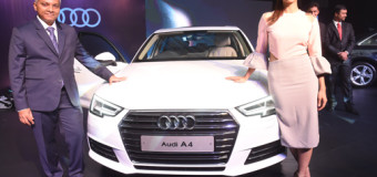 Audi A4 launched by Radhika Apte