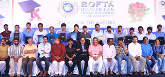 BOFTA Film Institute celebrates its First Year Convocation on Teachers' Day