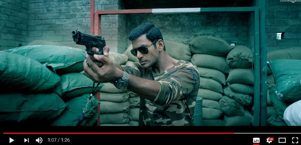 Irumbuthirai Official Teaser | Vishal, Arjun, Samantha | Yuvan Shankar Raja