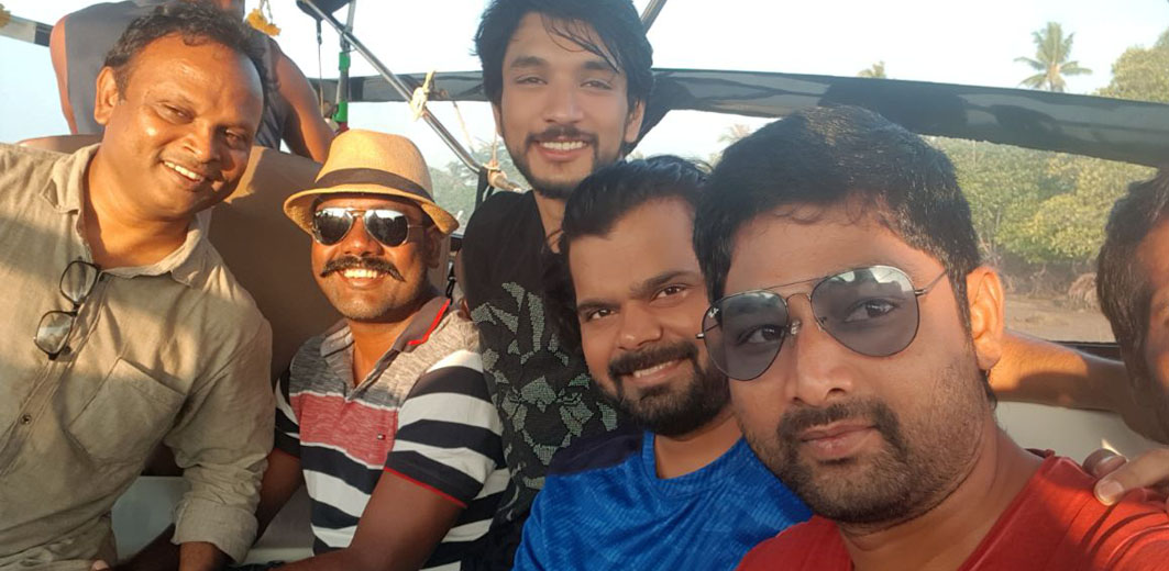 'Working is our holiday' says Team 'Mr.Chandramouli'