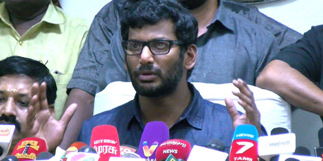 MOVIE RELEASES & SHOOTING TO COMMENCE FROM APRIL 20 – VISHAL