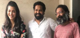 Shruti Haasan to present Lens director's next