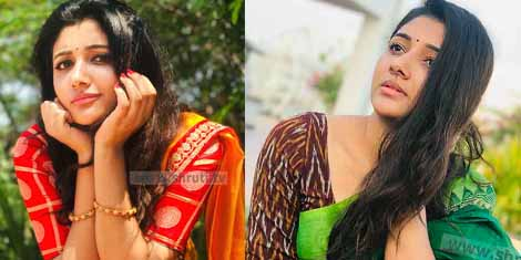 Actress Adhiti Treditional Look Latest Photoshoot Stills