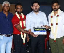 அரவிந்த்சாமி சன்தோஷ் P.ஜெயக்குமார் இணையும் புதியபடம் துவங்கியது